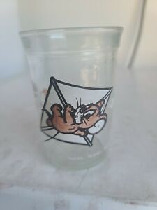 1990 Welch's Jelly Glass Jar Tom & Jerry - Jerry on a Kite Vintage