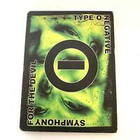 OUT OF PRINT Type O Negative - Symphony for the Devil (DVD, 2006, Bonus CD)