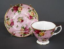 Royal Albert Old Country Roses SOFT PINK LACE Cup & Saucer- Pristine