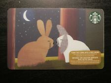 2015 Canada Christmas Holiday Rabbit Romance Starbucks Card Unscratched 6113 NEW