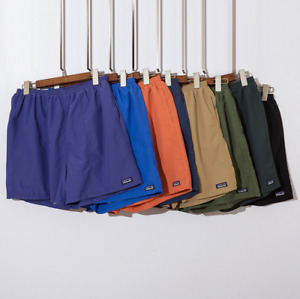 New Patagonia Summer Baggies Men's Casual Loose and Breathable Beach Shorts