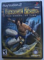 PRINCE OF PERSIA THE SANDS OF TIME PS2 SONY PLAYSTATION 2 WORKING