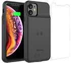iPhone 11 Qi Wireless Charging Battery Case Slim External Backup Charger Cover