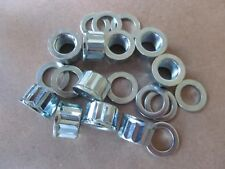 21-0692KW BSA A75 TRIUMPH T150 T160 CYLINDER BASE NUTS WITH WASHERS (SET OF 10)