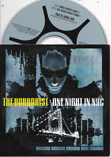 THE HORRORIST - One night in NYC CD SINGLE 2TR Techno House 2001 Cardsleeve