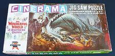 Vintage 1962 Ed-U-Cards Cinerama Mgm Brothers Grimm Dragon 350 Pc Jigsaw Puzzle