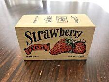 Kevton Strawberry Tea Wood Box (Empty)