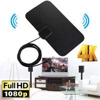 50 Miles Rango real High Gain Interior TDT HDTV 4K Antena Amplificador 1080P  ES
