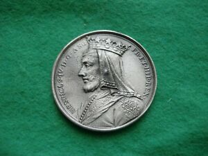 HENRY IV DASSIER CROWN SIZE MEDAL PEWTER FINISH BY THE LONDON MINT