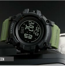 Mens LED Compass Digital Outdoor Sports Watch Fitness Pedometer Activity Tracker