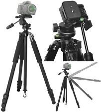 "80"" True Professional Heavy Duty Tripod With Case For Canon XA10 XH G1S A1S"
