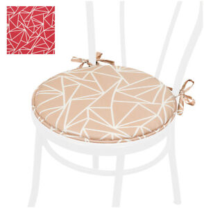 Pillow Chair Soft Round 40 CM Chair Cover Abstract with Laces Cooking Washable