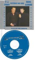 CD--MARC ALMOND UND P.J. PROBY -- --- YESTERDAY HAS GONE