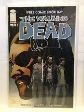 Walking Dead FCBD 2017 Signed by Charlie Adlard NM- 1st Print Image Comics