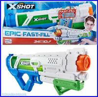 NEW ZURU X Shot Epic Fast-Fill Water Blaster. Fills 1 Litre Capacity In 1 Second