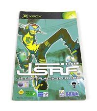 Jet Set Radio Future / Sega GT 2002 Spielanleitung Manual Microsoft Xbox Classic