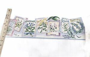 York Wallpaper Border Seed Packets pre Pasted Pastel 2 Rolls
