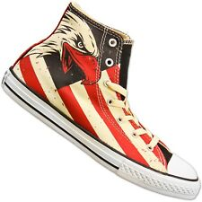 Converse Chucks American way of life Texas Farm codabianca Western 38 1/2 UK 5.5