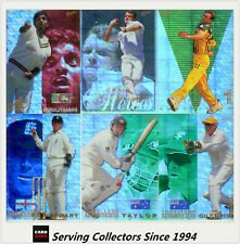 1998/99 Select Cricket Hobby Trading Cards Chrome Card Base Set (100)