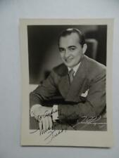 1942 Freddy Martin Bandleader Mr Silvertone Saxophonist Signed Inscribed Photo