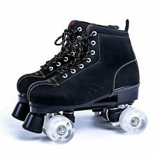 New listing Beuway Womens Roller Skates High-top Roller Skates Four-Wheel Roller Skates D...