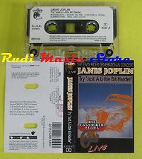 MC JANIS JOPLIN Try just a little bit harder 1993 italy LIVE no cd lp dvd vhs