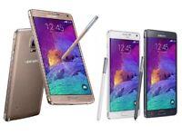 Samsung N910 Galaxy Note 4 32GB 4G LTE Sim Free Unlocked Smartphone All Colours