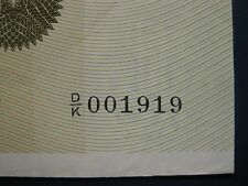 SCARCE 1981 CLYDESDALE BANK (SCOTLAND) £50 (LOW No. 001919) BANKNOTE CRISP GVF
