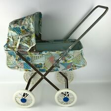 Vintage Holly Hobbie Collapsible Doll Stroller Carriage Buggy w/ Plastic Wheels