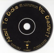 "VIC CHESNUTT ""ABOUT TO CHOKE"" MEGA RARE SPANISH CD / ONLY DISC"
