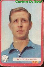 025 RAYMOND KOPA EQUIPE DE FRANCE FOOTBALL CARTE MIROIR SPRINT 1960's RARE