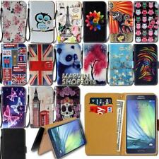 Leather Wallet Card Stand Flip Case Cover For Various Samsung Galaxy J7