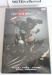 BRAND NEW X FORCE VOL 1 DELUXE HC HARDCOVER OOP CRAIG KYLE YOST CHOI CRAIN EX+