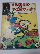 TEX  N.27 - Assedio al posto n. 6 - L. 250 - Maggio 1966
