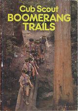 CUB SCOUT BOOMERANG TRAILS