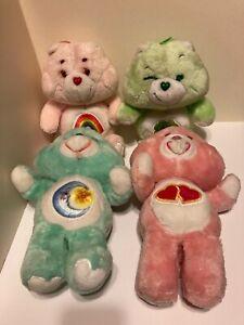 """Care Bears (Vintage) - 4 original 13"""" - Kenner 1983 - American Greetings Corp."""
