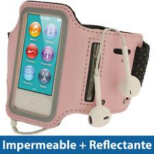 Rosa Brazalete Armband para Nuevo Apple iPod Nano 7ª Generacion 7G Sport Case