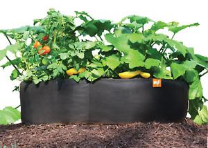 Victory 8 Fabric Raised Garden Bed, 3x3 Feet