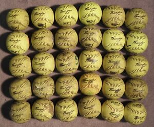 Softballs used lot of 30 12 in