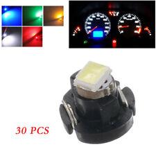 30X 12V T3 Neo Wedge LED Instrument Cluster Panel Lamp Gauge Bulbs A/C Light Kit