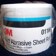 3M Red 1681 Stick It Adhesive Back Continuous Sheet Roll Sandpaper 400 Grit