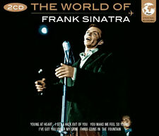 The World Of Frank Sinatra Songs 2 CD 1950s Music
