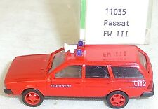 VW Passat Feuerwehr 112 FWIII SYNCRO IMU/EUROMODELL 11035 H0 1/87 OVP # GB5 å