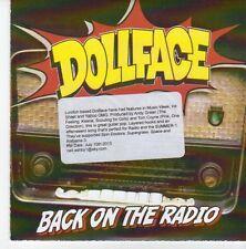 (EB118) DollFace, Back On The Radio - 2013 DJ CD