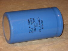 High Voltage Compulytic Capacitor, 1600uf 350 volts