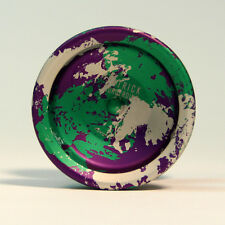 YoYoFactory Cyborg Yo-Yo - Purple Green and Silver