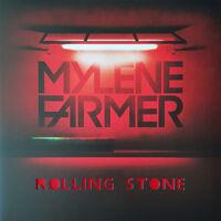 "Mylène Farmer 12"" Rolling Stone - Limited Edition, Red Translucent - France"