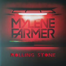 "Mylène Farmer 12"" Rolling Stone - Limited Edition, Red Translucent - France"