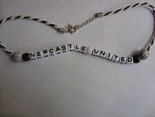 newcastle united football necklace