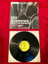 Dean Tyler Presents Lee Andrews & the hearts recorded live on stage vinyl VG  #5
